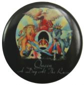 Queen - 'A Day at the Races' Button Badge